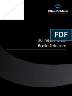 Etude Business Model Bazile Telecom