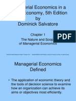 Managerial Economics in a Global Economy, 5th Edition Chapter 1