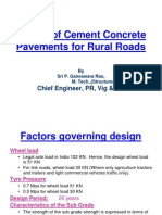 PP3-Design of CC Pavement