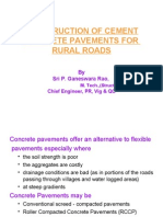 PP4-Constn.of CC Pavement