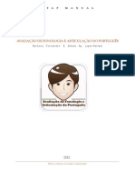 Avaliação de Fonologia e articulação do Português - Manual