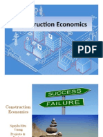 Construction Economics Lecture ATP50_3