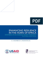 Enhancing Resilience in the Horn of Africa