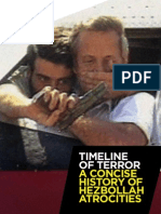 Timeline of Terror- A Concise History of Hezbollah Atrocities