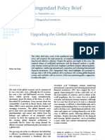 Upgrading the Global Financial System