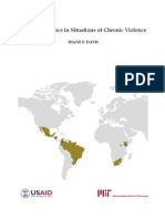 Urban Resilience in Situations of Chronic Violence
