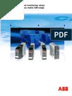 3 Ph Monitoring Relay