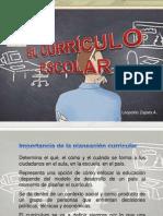 El currículo escolar