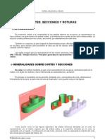 Cortes Secciones y Roturas