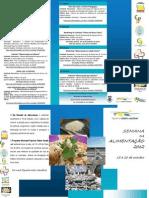 Folheto Semana Alimentação Figueira da Foz 2012