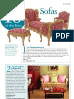10 Best Sofas