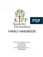KIPP Academy Elementary School - Family Handbook 2012-13 [English]