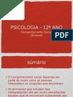COMPORTAMENTO SOCIAL