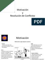 Motivación y R. de conflicto