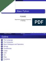 4 Basic Python