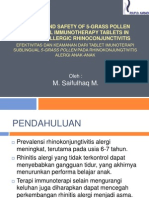 Critical Appraisal Jurnal Imunologi SLIT
