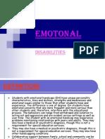 Emotional Disability