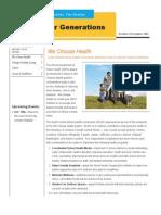 H4G Newsletter - OctNov Issue