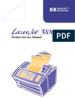 Laserjet 3100 Service Manual