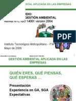 g. Ambiental Aplicada a Las Empresas
