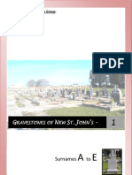 New St. John's Graveyard Database. Vol. 1
