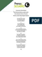 Trovas del Día del Idioma CER La Chuscala 2012