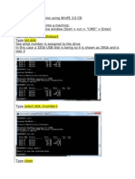 Boot Desktop Machine Using WinPE 3 USB