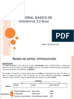 Tutorial de Open Office Base