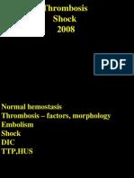 ST Thromb Embo Shock DIC TTP HUS 09