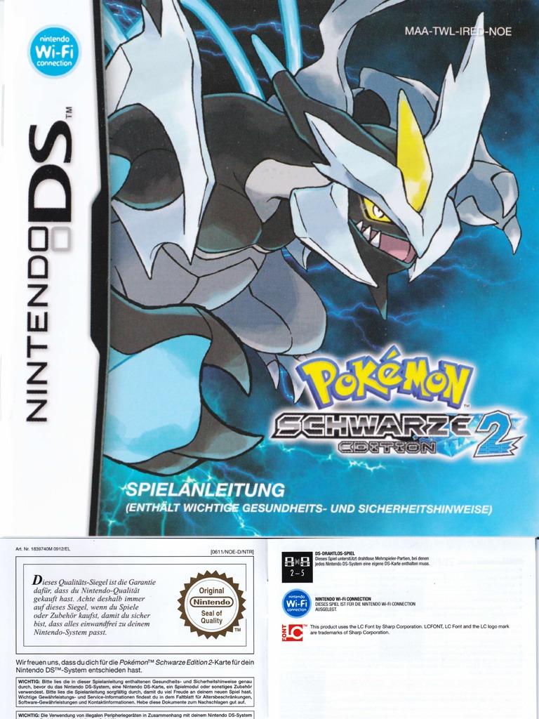 Pokemon Spielanleitung