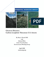 Clearcut Disaster