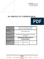 Programación Didáctica de Proyecto Empresarial - IES Cartuja