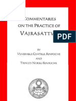 Commentaries on the Practice of Vajrasattva