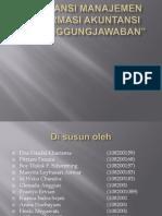 AKUNTANSI MANAJEMEN - Informasi Akuntansi Pertanggungjawaban