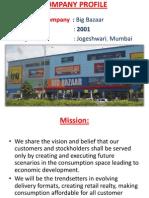 Project Big Bazaar in Vbp