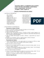 Preparação de sabões (1)