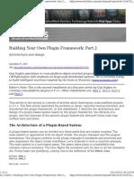 Building Your Own Plugin Framework Part2