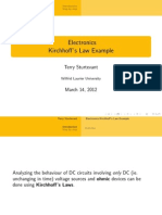 Kirchoff's Laws