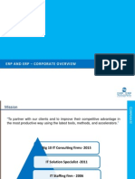 SAP Value Proposition Services by ERPandERP