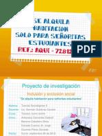 ALQUILER DE HABITACIONES 2012 Jec®