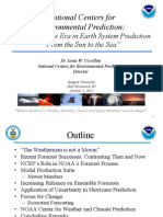 National Centers for Environmental Prediction