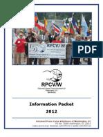 2012 RPCV/W Information Packet