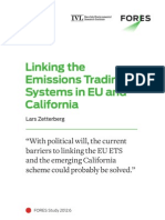 Linking the Emissions Trading Systems in EU and California