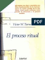 Turner, Victor W. El Proceso Ritual. Estructura y Antiestructura