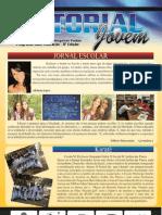 Escola da Amazônia no jornal da Escola Municipal Benjamin Padoa, de Alta Floresta