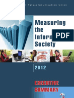 Measuring the Information Society 2012 (Executive Summary)