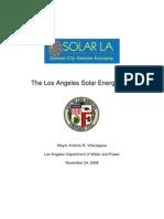 Los Angeles Solar Energy Plan