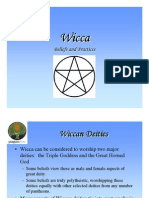 Anonymous - Wicca Beliefs and Practices