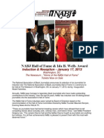 2013 NABJ HOF Sponsorship Package