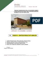 Relazione Di Sintesi - Nuova Ala PO SULMONA